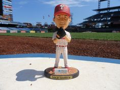 On 11/29: Get a free Cole Hamels Bobble Figurine gift with purchase (while supplies last) figurin gift