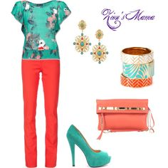 Sweet Summer, created by zionsmama on Polyvore