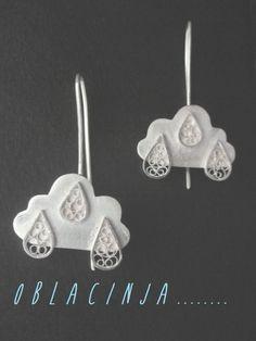 earrings , Silver Filigree ,  https://www.facebook.com/SofijaFiligranskaJewellery