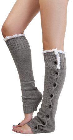 Button leg warmers