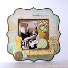 PaperVine: Heritage Frame with Madame Boutique