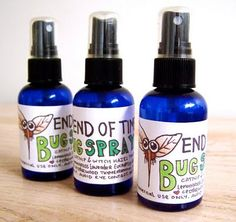 Another DIY bugspray.... for someone who had a child that is allergic to mosquito bites like me this is a must and it would be nice to eliminate all the chemicals