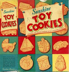 Sunshine Toy Cookies