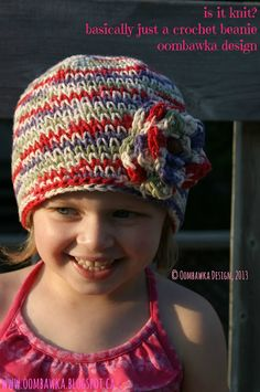 An Old Crochet Stitch, Done in a New Way - Toddler Size - Free Crochet Pattern #crochet #freepattern