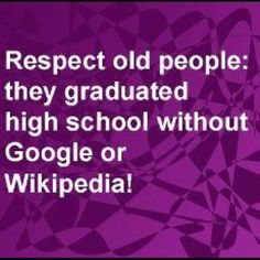 I guess I'm old because this would be me!! ;-)