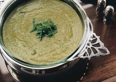 Fresh Pea and Mint Soup