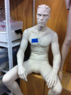one of the many used Rootstein mannequins we sold last year