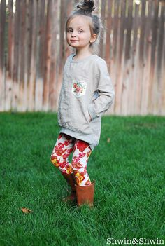Shwin&Shwin: The Apple LoungeWear {PDF Pattern}
