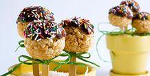 Rice Crispy Pops sweet recip