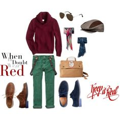 """Keep it Real Boys Style"" by goldberg117 on Polyvore"