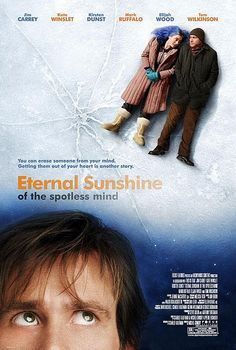 Eternal Sunshine.. My favorite movie right now.  So touching..