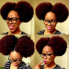 Click the image for Alesha's natural hair photos and regimen.