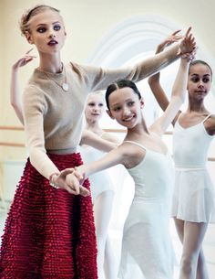 vogue Russia   ballet students