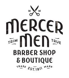 Mercer Men logo by super_furry, via Flickr   #corporate #branding #creative #logo #personalized #identity #design #corporatedesign < repinned by an #advertising agency from #Hamburg / #Germany - www.BlickeDeeler.de   Follow us on www.facebook.com/BlickeDeeler