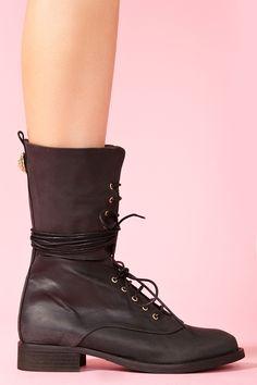 Angela Combat Boot