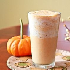 pumpkin smoothie- low carb