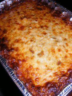The Recipe Review: Baked spaghetti - this was good, and I used gluten-free spaghetti noodles