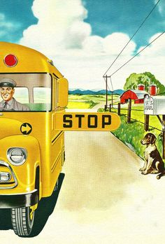 School Bus Rural Route