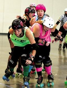 Skaters to compete in 6th annual roller derby  #skate #rollerskate #rollerderby #wildwood