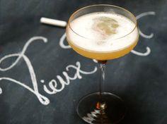 19. A creative cocktail #modcloth #wedding happy hour, vieux mot, cointreau cocktail, cocktail recipes, delici drinki, champagn cocktail, fruit recip, violet hour, cocktails