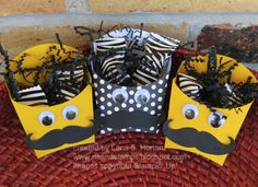 Stampin' with Nanna: French Fry Die: Makes the Cutest Little Treat Boxes Ever