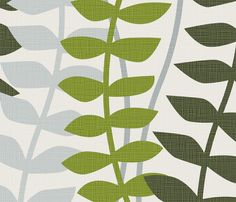 matisse inspired - greens colorway by ravynka - Floral/Nature-themed