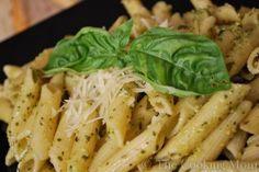Lemon Basil Pesto Sauce