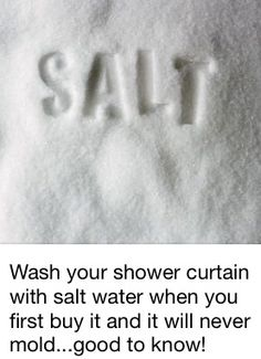 Life hack for your shower curtain - #LifeHack, #LifeHacks, #Shower