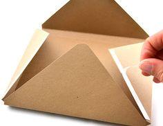 Making Envelopes for Embellished Cards