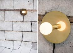 Lambert and  Fils Dot Murale Lamp