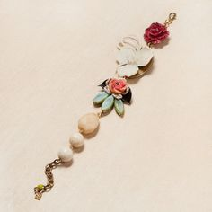 Spring Bloom Bracelet now featured on Fab.