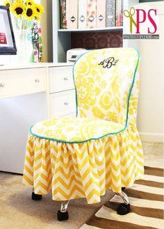Slip cover for office/desk chair