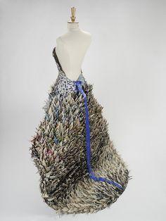 Yuliya Kyrpo 'Metro Dress' 2010 - magazines; back