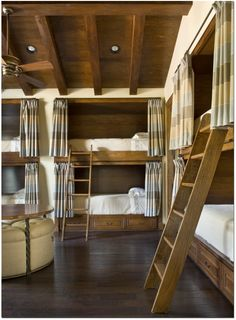 Bunk beds for the basement/storm shelter! this is awesome