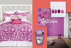 PANTONE Color of the Year 2014 Radiant Orchid 18-3224 - adaptable and beautiful!