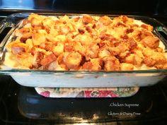 Chicken Supreme. Gluten  Dairy free recipe.