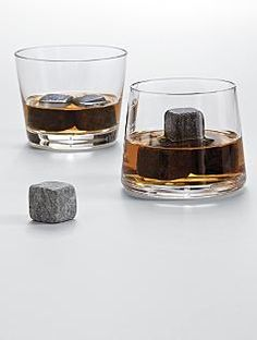 For the man who has everything - Whiskey lover's set, keeps his drink cold without watering it down.