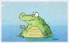 Alligator art by Bob Ostrom Studio | Flickr: Intercambio de fotos