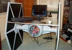 TIE Fighter Desk  must. have.