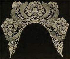 Viennese Art Nouveau Lace nouveau lace, lace design, antiqu lace, textil, viennes art, art nouveau, кружева, embroideri