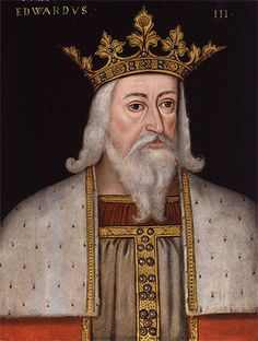 Edward III as he was portrayed in the 16th century