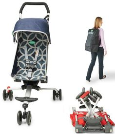 Quicksmart Backpack Stroller: It's a light and compact stroller perfect for travel and can be comfortably kept in a backpack.