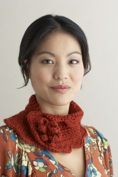 Sweet Crochet Scarf: free easy level pattern