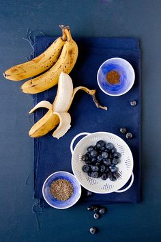 Vegan Blueberry Banana Bread Zutaten