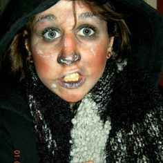 Learn to do Halloween Makeup like the pros tutorial.