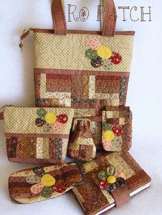 patchwork set by Rô Patch