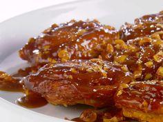 Sweet and Sticky Caramel-Hazelnut Rolls - Giada De Laurentiis