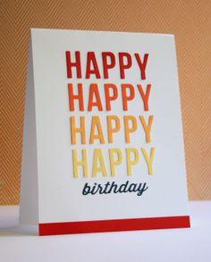 by Miriam Prantner birthday card, birthday candl