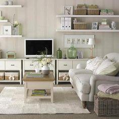 10 Feminine Living Room Ideas