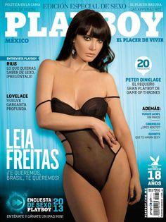 Leia Freitas Playboy México Septiembre 2013 [PDF Digital] | FamosasMex
